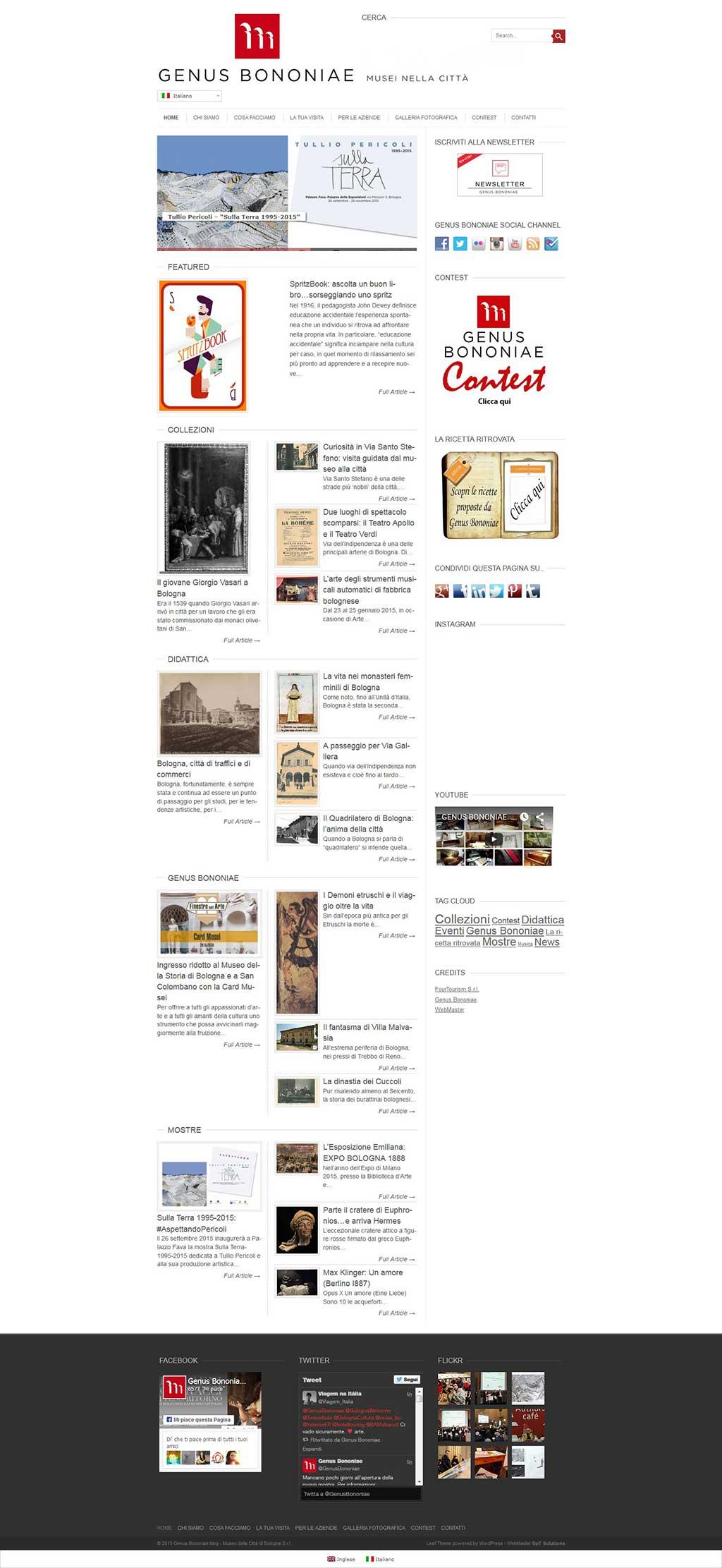 GenusBononiae Bologna Blog