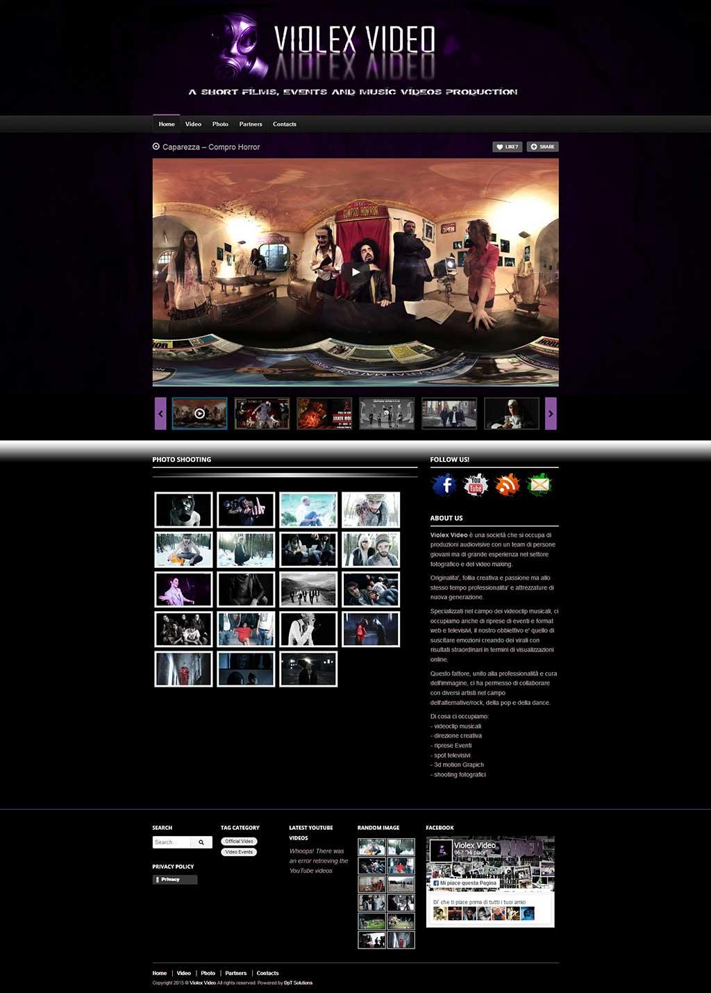 Violex Video sito web ufficiale