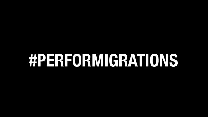 Performigrations video backstage workshop