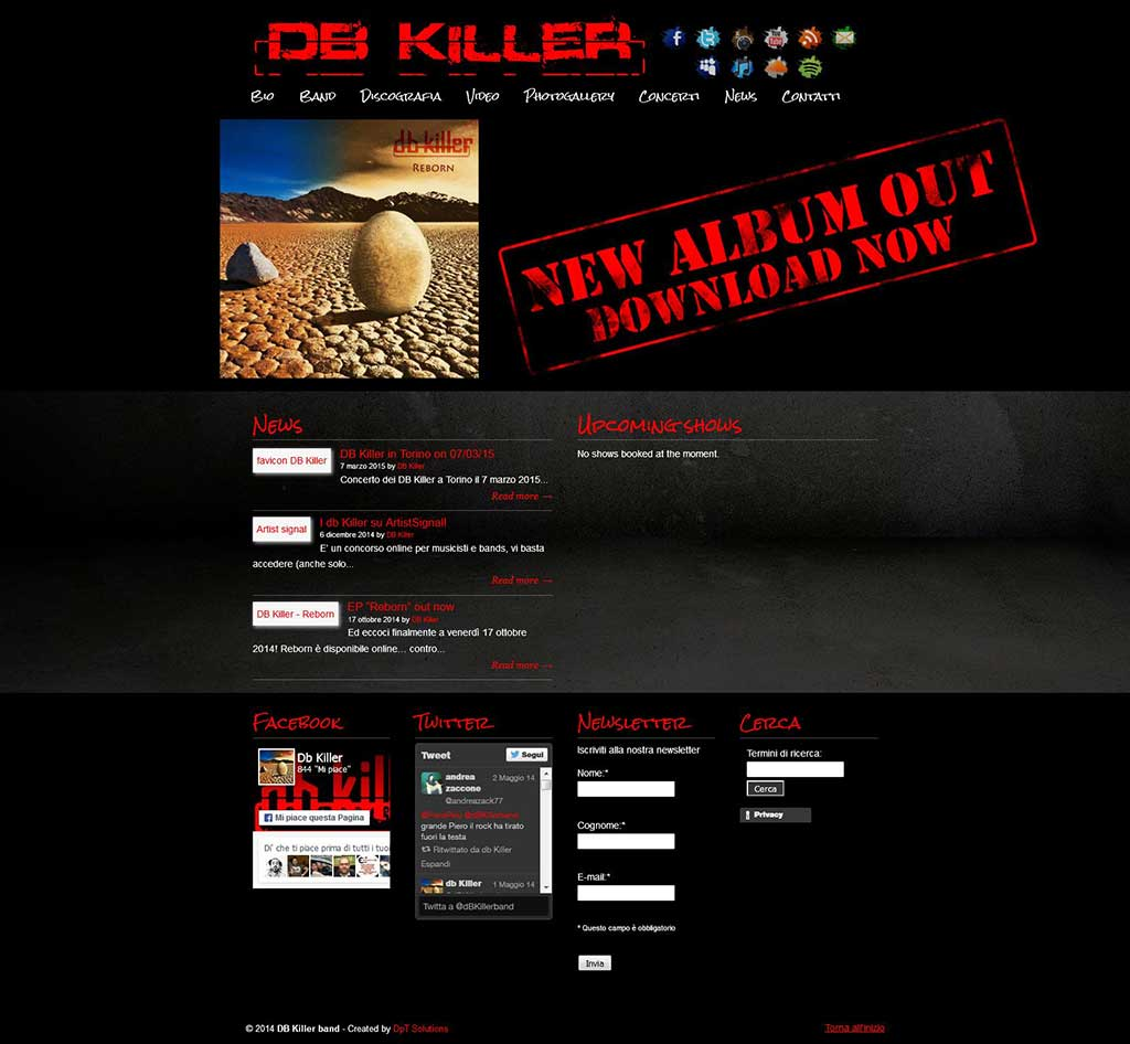 DB Killer sito web officiale