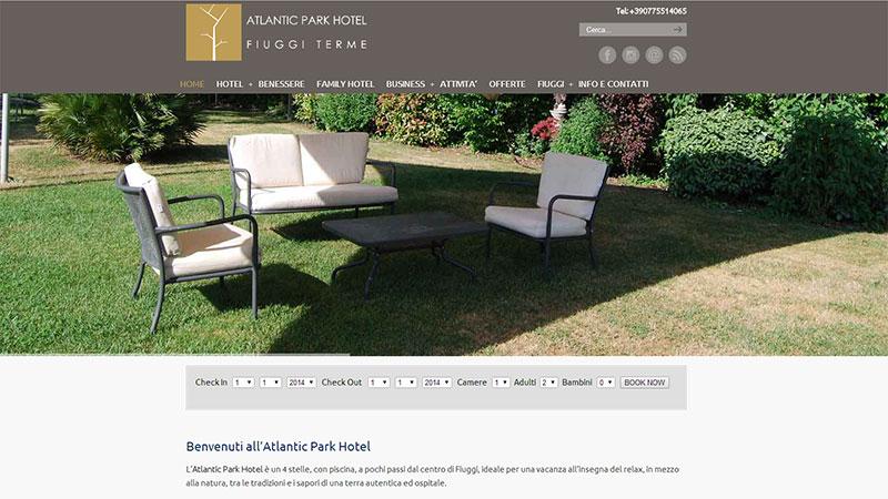 Atlantic Park Hotel Fiuggi sito