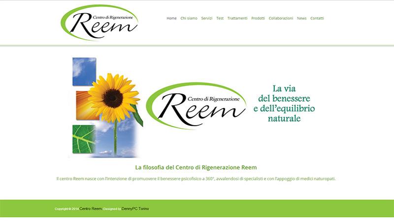 Centro Reem sito web