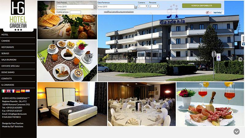 Restyling sito Hotel Gardenia