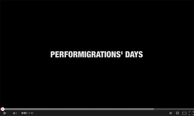 Performigrations Kick-off Workshop video