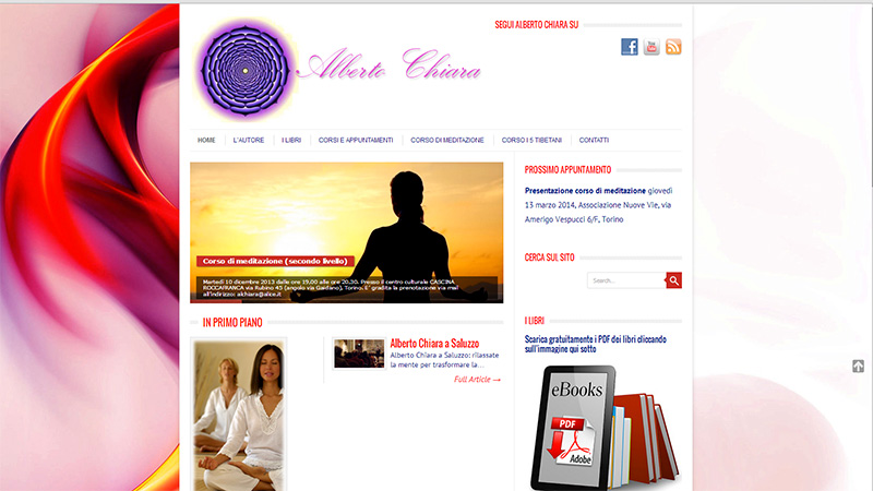 Alberto Chiara official website
