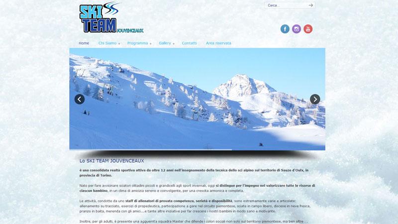 Ski Team Jouvenceaux sito web