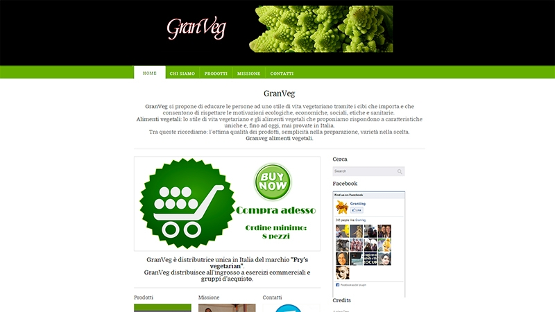 Gran Veg website