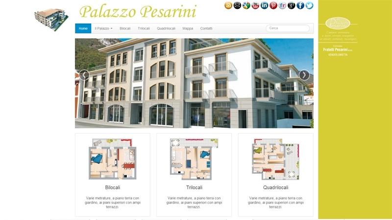 Palazzo Pesarini sito web appartamenti