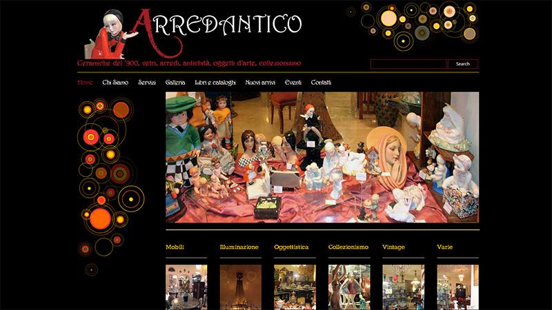 sito web arredantico