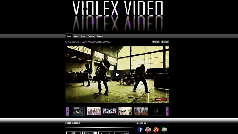 violex video sito web
