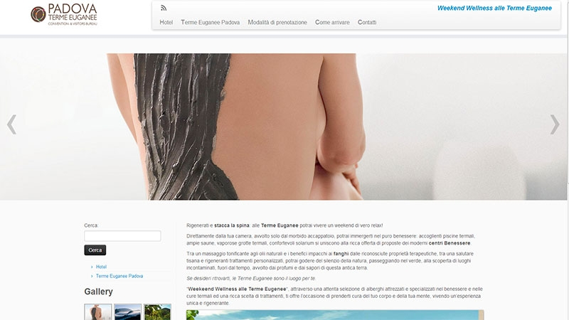 wellness padova mini portale