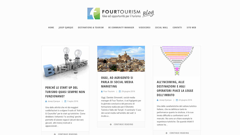 Blog Four Tourism