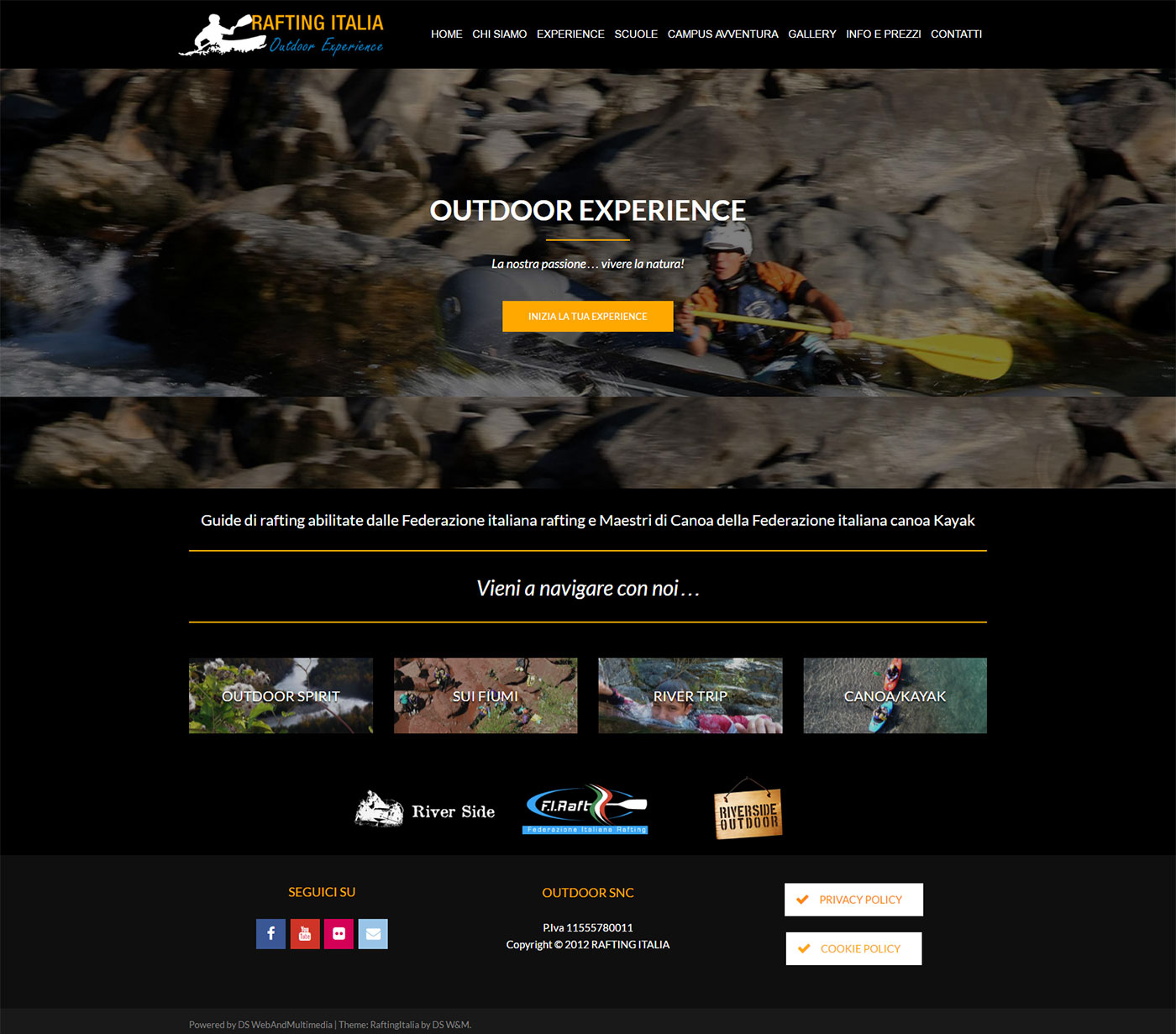 rafting-italia-website