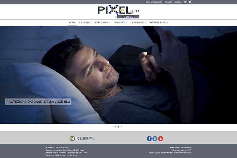Restyling Pixelkura website