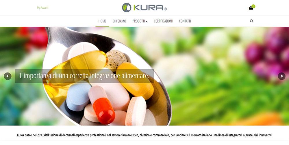 Restyling sito web Kura