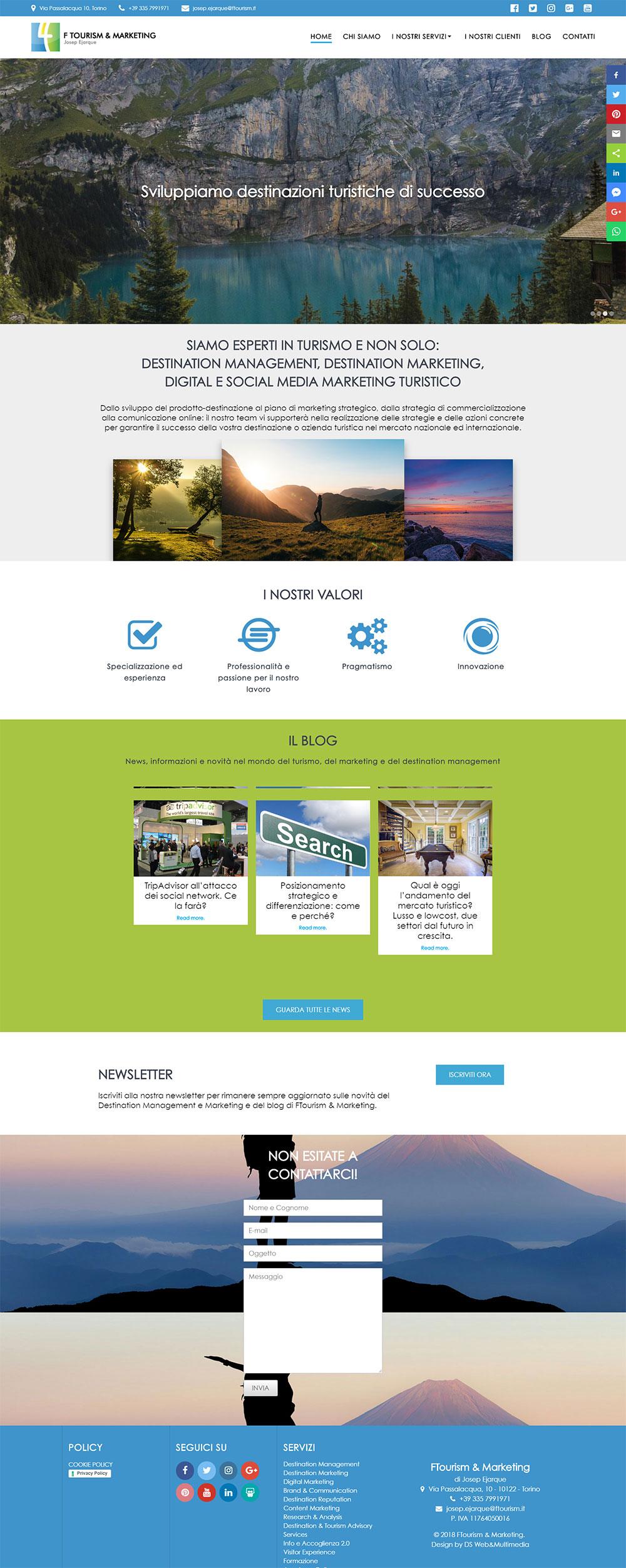 FTourism-sito-web
