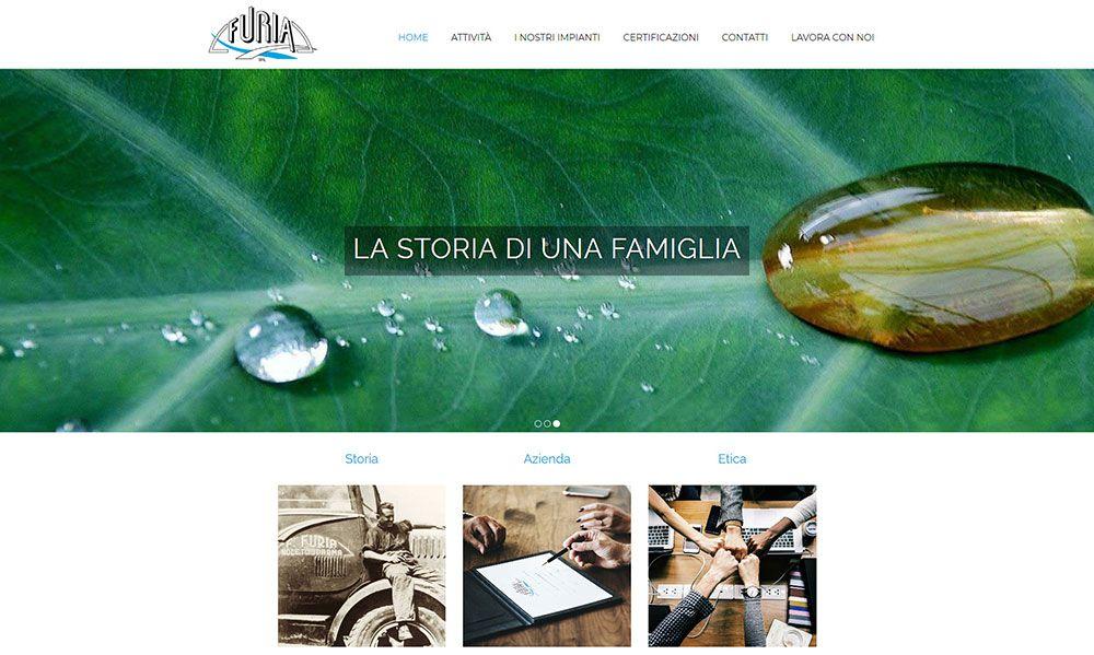 Restyling sito web Furia S.r.l.