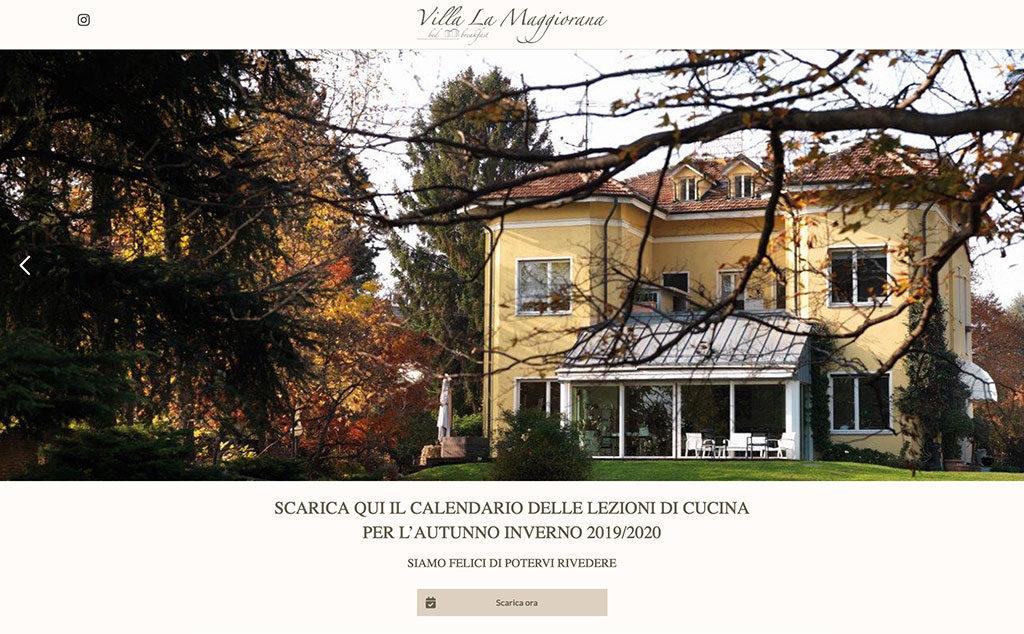Creazione landing page La Maggiorana